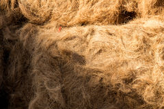 Background beautyful Straw texture Stock Photos