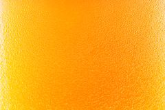 Background beer with foam and bubbles Stock Photography
