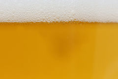 Background of beer in the glass Royalty Free Stock Photography