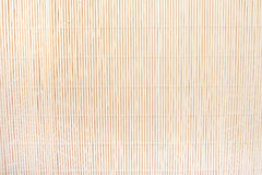 Background of beige bamboo mat Royalty Free Stock Images