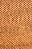 Background, beige geometric grid Royalty Free Stock Photo
