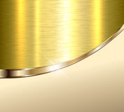 Background beige and gold Royalty Free Stock Images