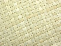 Background beige rattan mat Royalty Free Stock Photography