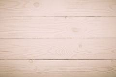 Background beige wooden plank Toned in warm colors Stock Photo