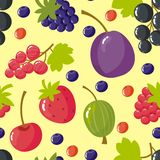 Background with berries Stock Image