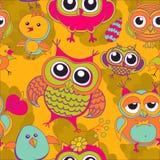 Background berries bird birds. Color Stock Image