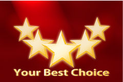 Background Best Choice Royalty Free Stock Photo