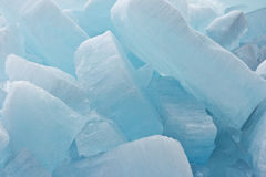 Background of big blocks of ice Royalty Free Stock Photo