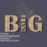 Big sale this weekend only final reductions  vector illustration eps10. Background big competition concept design figure final illustration isolated line only Royalty Free Stock Images