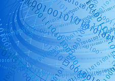 Background binary code Stock Image