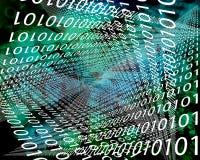 Background binary code Stock Image