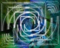 Background binary code Royalty Free Stock Photo