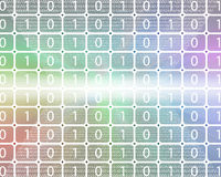 Background of binary code Stock Images
