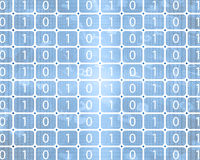 Background of binary code Royalty Free Stock Images