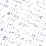 BACKGROUND FROM THE BINARY CODE IMAGE. White background with binary code for blue text for text stock illustration