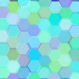 Background with birch hexagons. Raster Stock Photos