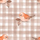 Background with birds Royalty Free Stock Photography