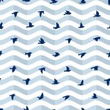Background with birds. Royalty Free Stock Photo