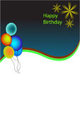 Background birthday Stock Photography