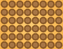 Background of biscuits Royalty Free Stock Image