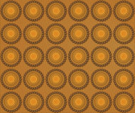 Background of biscuits mandalas Stock Photography