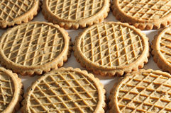 Background of biscuits Stock Photo