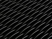 Background of black 3d abstract waves. Render Stock Photos
