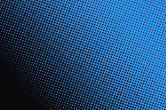Background of black dots on blue background. Royalty Free Stock Images