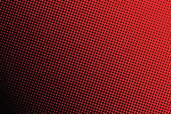 Background of black dots on red background. Royalty Free Stock Image