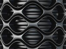 Background. Black fiber background. big 3d mash image Stock Images