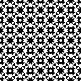Black and white seamless repeated geometric art pattern  background. Background,black,,geometric,pattern,seamless,white,abstract,art, print ,textile ,vector file Royalty Free Stock Photography