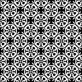 Black and white seamless repeated geometric art pattern background. Background,black,,geometric,pattern,seamless,white,abstract,art, print ,textile ,vector file royalty free illustration