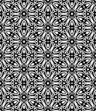 Black and white seamless repeated geometric art pattern  background. Background,black,,geometric,pattern,seamless,white,abstract,art, print ,textile ,vector file Stock Image