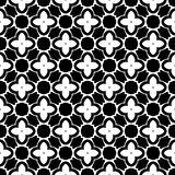 Black and white seamless repeated geometric art pattern  background. Background,black,,geometric,pattern,seamless,white,abstract,art, print ,textile ,vector file Royalty Free Stock Photo