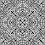 Black and white seamless repeated geometric art pattern  background. Background,black,,geometric,pattern,seamless,white,abstract,art, print ,textile ,vector file Royalty Free Stock Photos