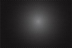 Background - black gradation Hexagon Stock Image