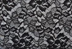 Background from black lace Stock Photos