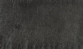 Background of black leather Stock Photo