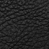 Background of black leather Royalty Free Stock Photography