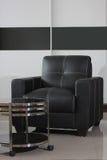 Background black sofa lounge Stock Photos