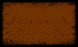 Background. Black spots can be used for background or photo frame Royalty Free Stock Photography