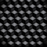 Background black squares. In dark colors. eps10 vector illustration Royalty Free Stock Photo