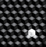 Background black squares Royalty Free Stock Photography