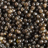 Background from black sturgeon caviar close up. Square food background - black sturgeon caviar close up royalty free stock photo