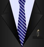 background black suit Royalty Free Stock Photo