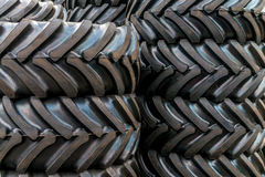 Background with black tire Royalty Free Stock Photography
