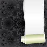 Background. Black and white background with copy space Royalty Free Stock Image