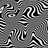 Vector background liquify black and white. Inspired from zebra liquid pattern texture. royalty free illustration