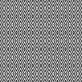 Background of black and white rhombuses. Seamless neutral background with black and white rhombuses. Abstract geometric pattern, vector illustration Stock Photography
