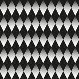 Background of black and white rhombuses. Seamless neutral background black and white rhombuses, chessboard. Abstract geometric pattern, vector illustration Stock Photo
